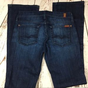 """🌺Seven for all Mankind bootcut denim jean 30"""""""